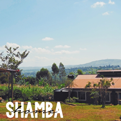 View of Sharon's House and surrounding scenery in Rionchogu, Kenya.